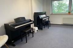 Renting out: Studio mit Klavier